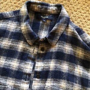 Madewell Andover button down plaid shirt